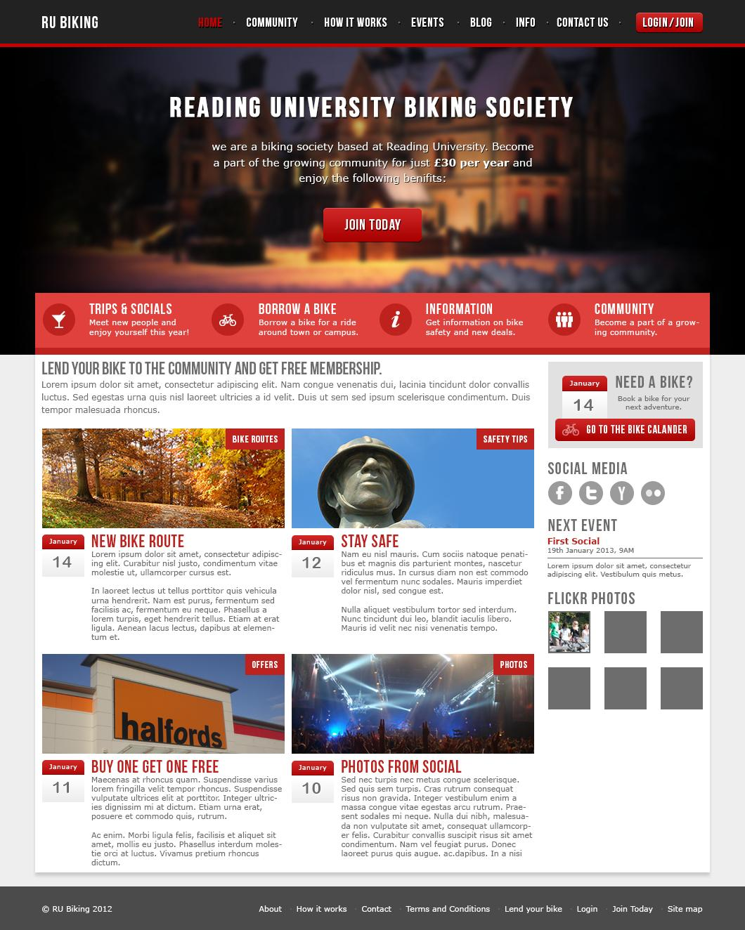 Professional Homepage Web Design / Redesign by Sonny1993 - 36386