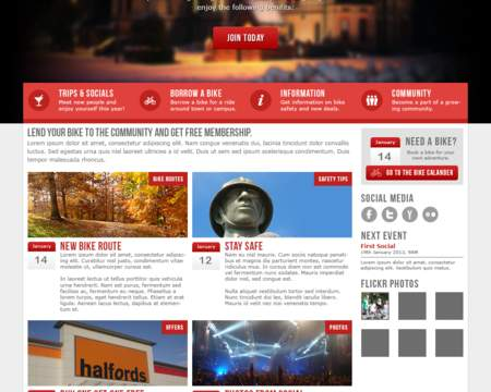 Professional Homepage Web Design Redesign