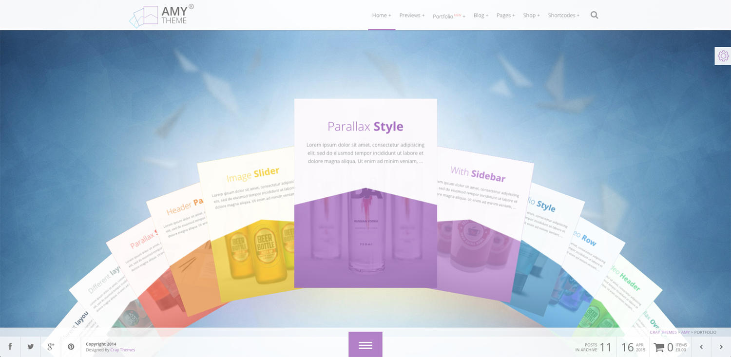 WordPress Theme Installation ( Demo & Theme Plug-in)  by CrayThemes - 76720
