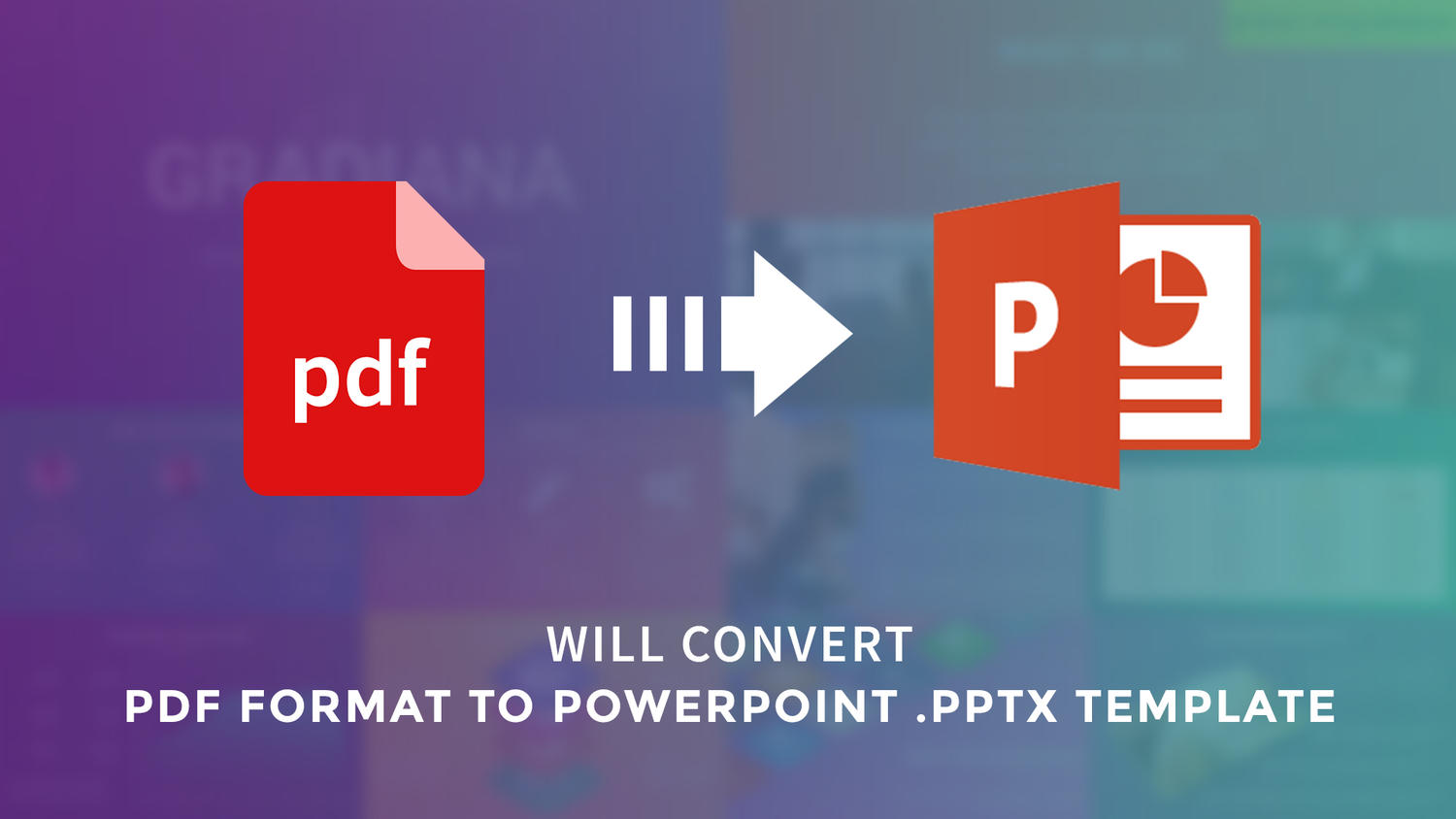 Convert PDF to PowerPoint Template by arvaone - 108868