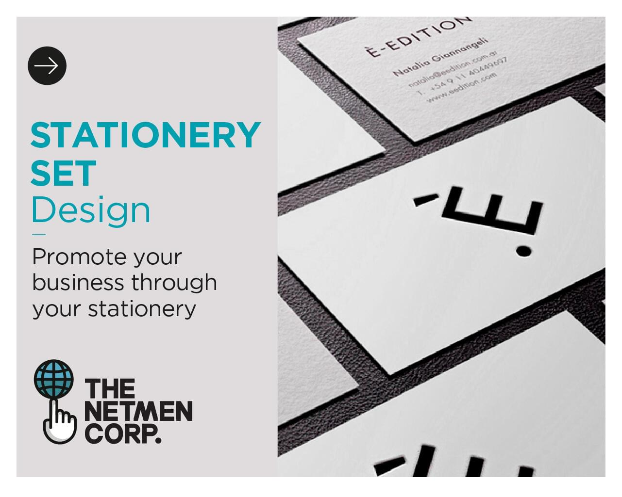 Custom and Original Stationery Set Design by thenetmen - 118350