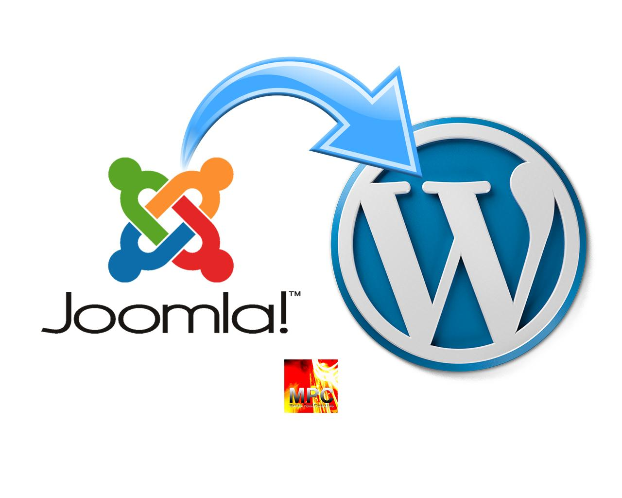 Joomla to WordPress Migration by mpek - 98539