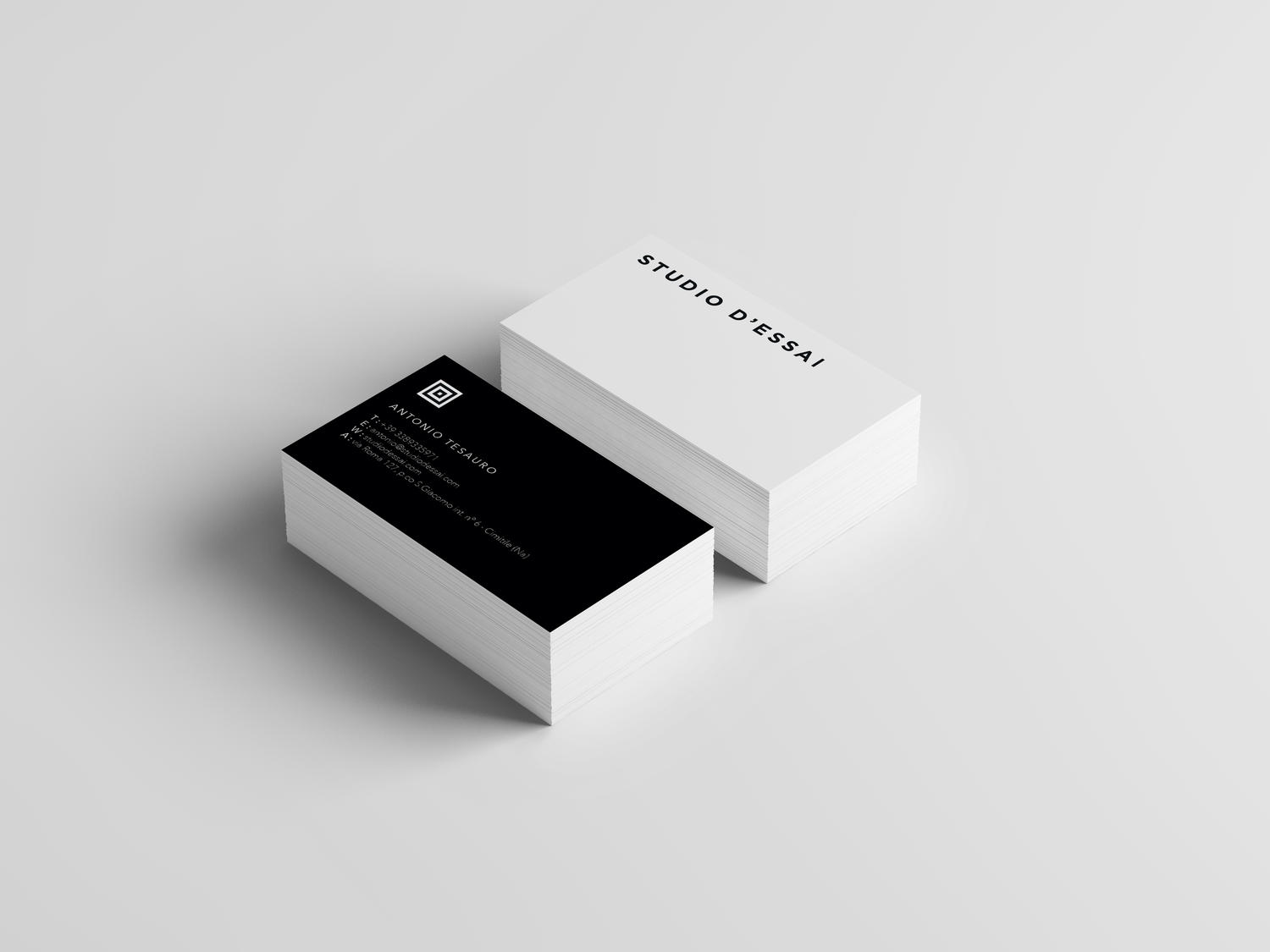 Unique and Modern Business Card Design by cihanzengin - 90333