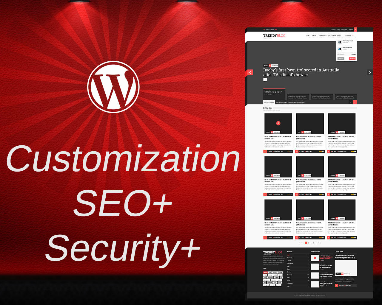 Themeforest Theme Installation with Demo Content, Performance, Security, SEO Plugins by subhasmruti - 73719