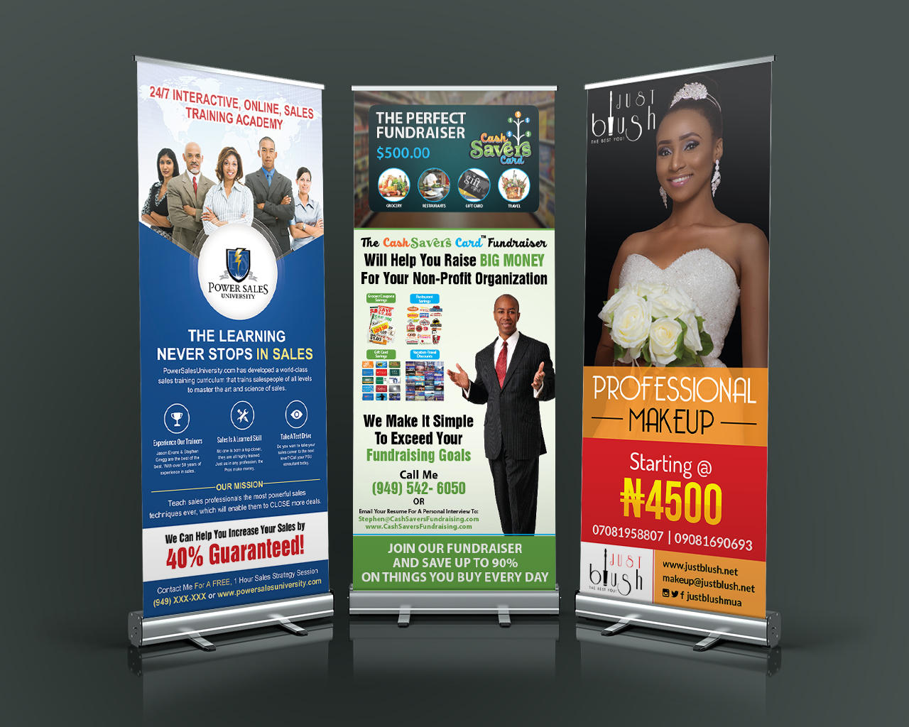Professional Roll-Up / Pull up Design by sudiptaexpert - 110396