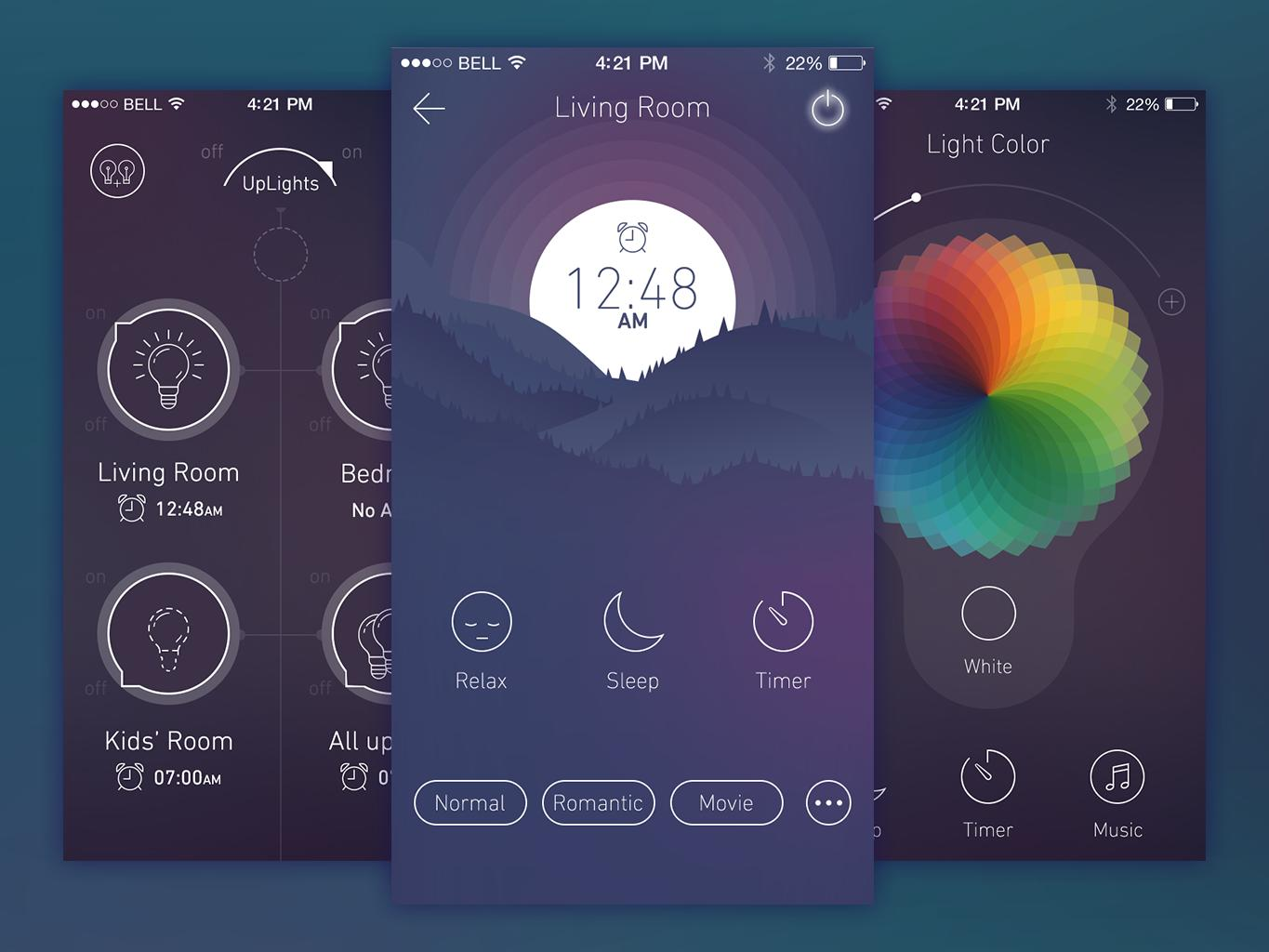 Minimalist ios app ui design by sirfreelancelot on envato Blueprint creator app