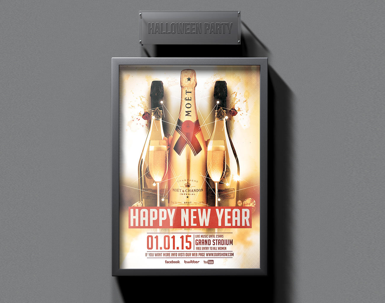 Poster design youtube - Custom Flyer Poster Design Service