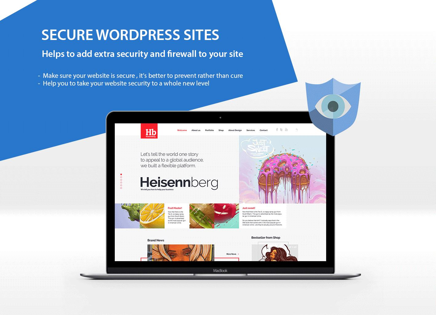 WordPress Security Protection Service by VicTheme - 85030