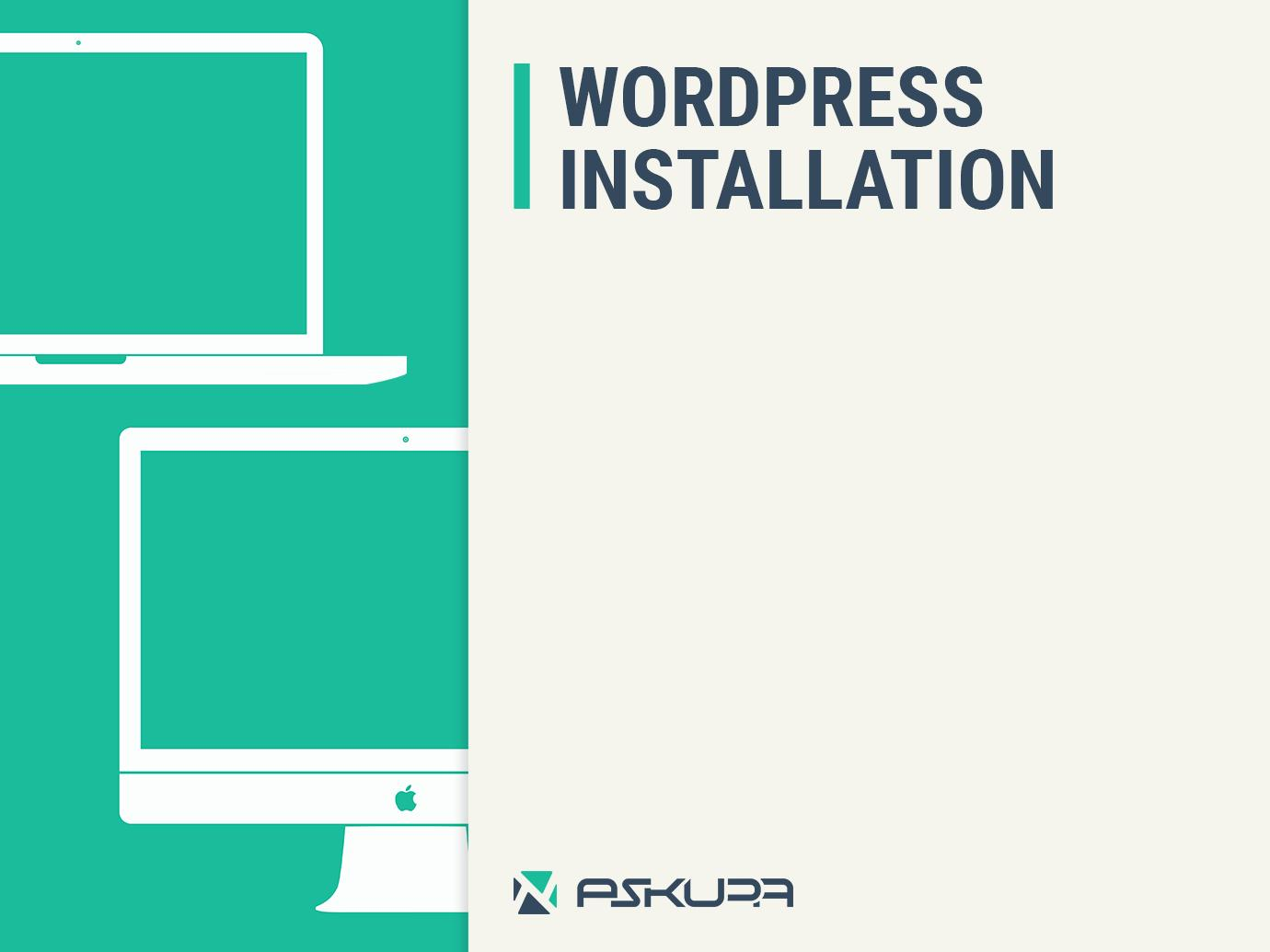 WordPress Installation & Theme setup by Askupa - 97679