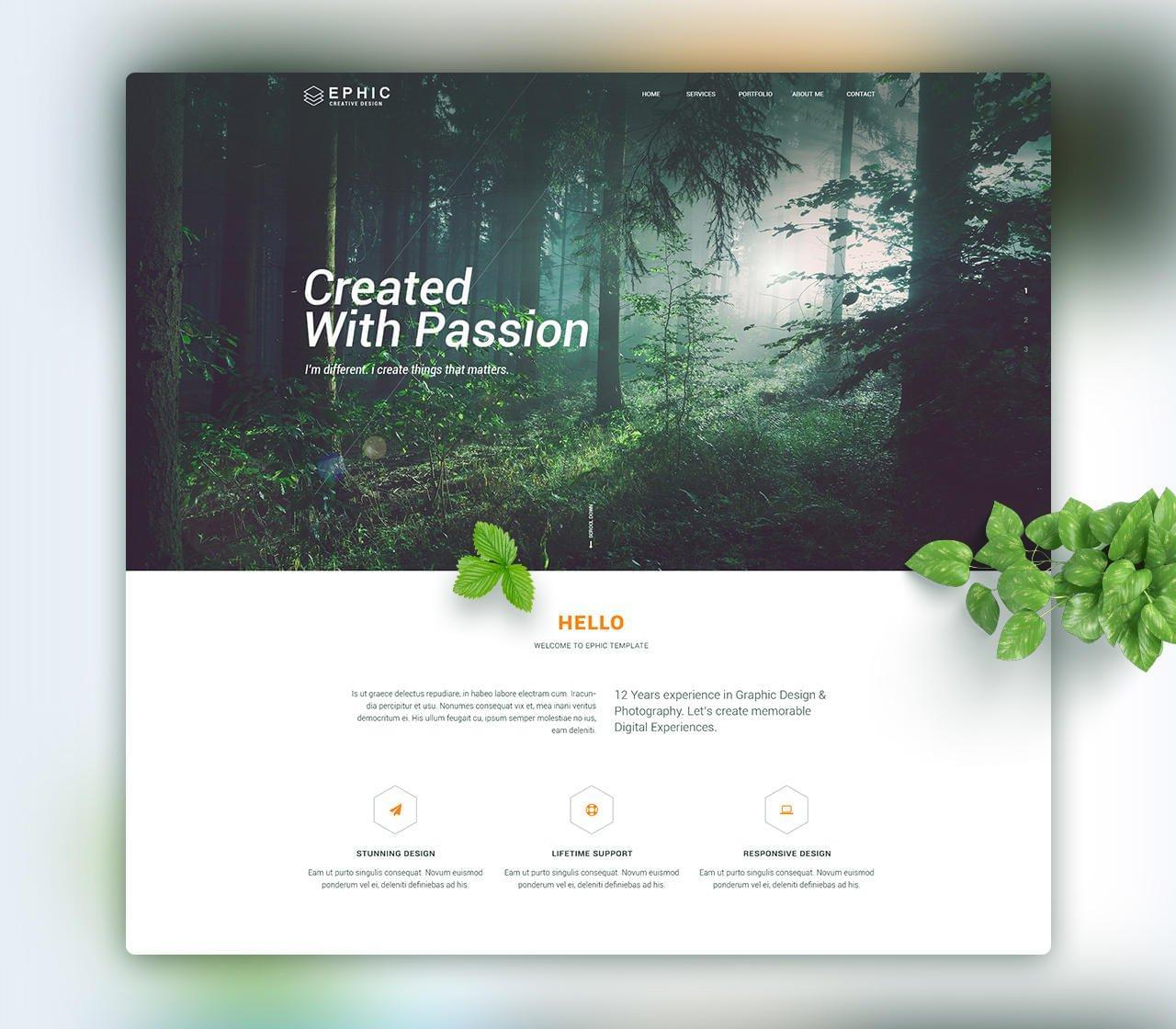 Professional  Home Page/Landing Page Design by KonnstantinC - 111781