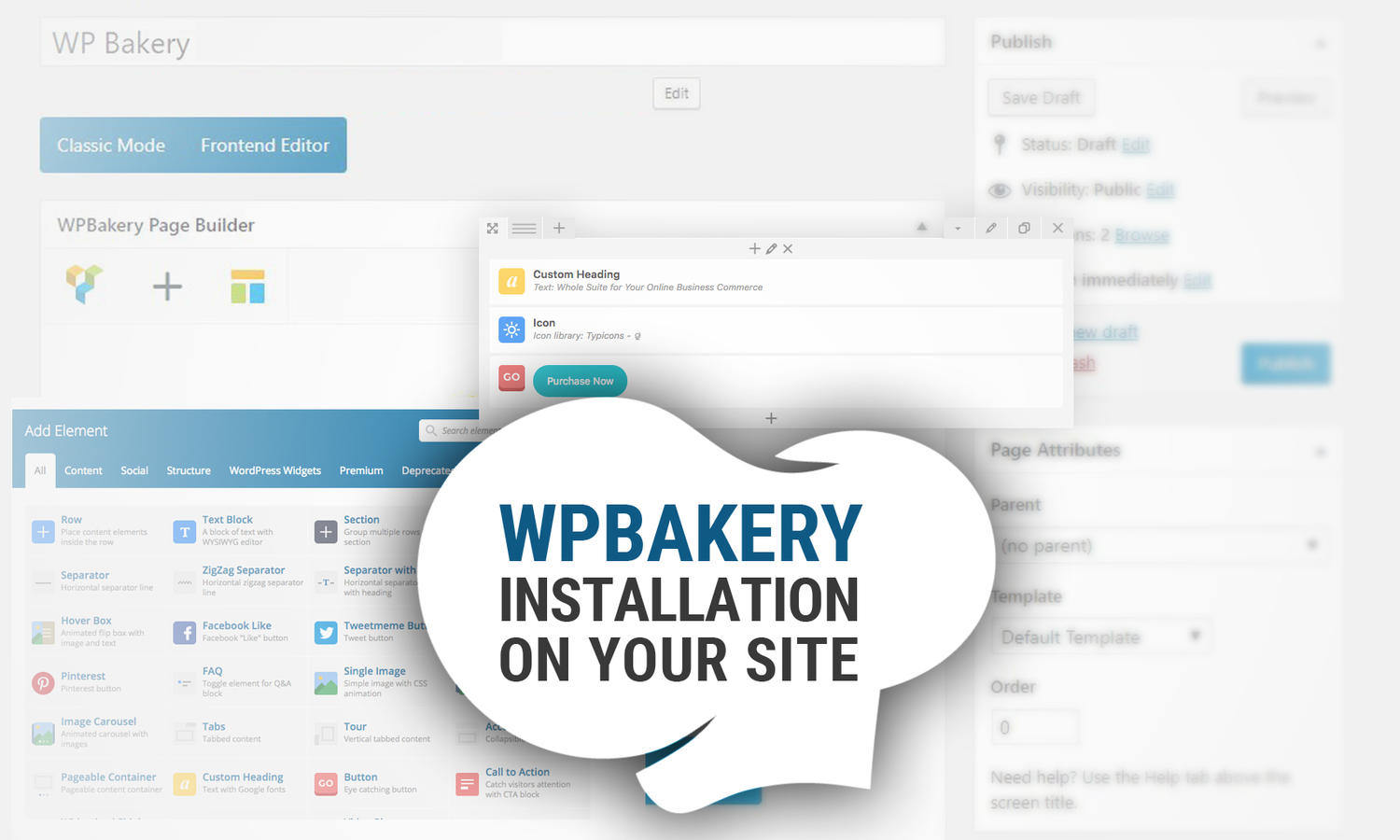 Bakery Page Builder Installation or Upgrade version  by madridnyc - 110928