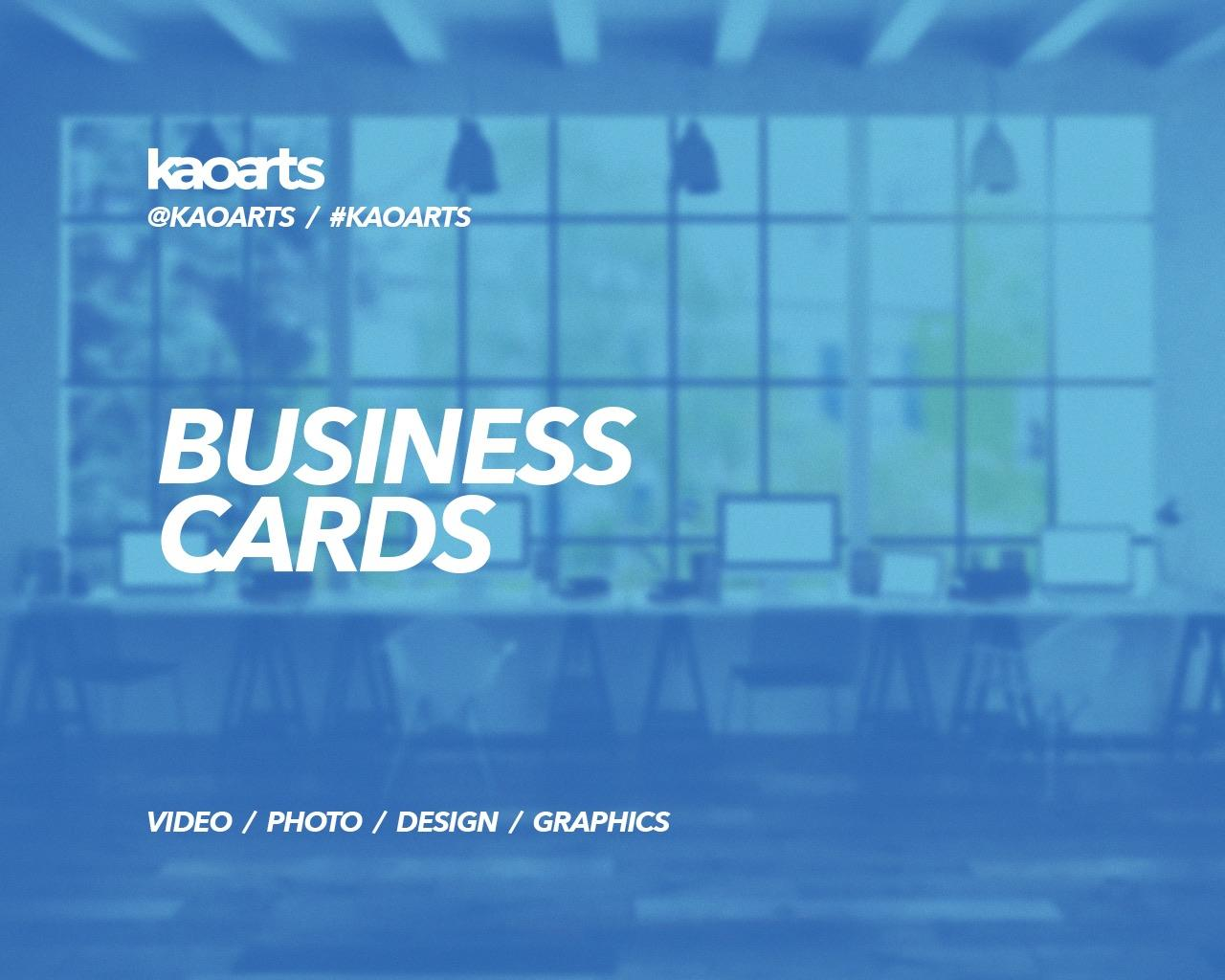 Professional Business Cards by Kaoarts - 95842
