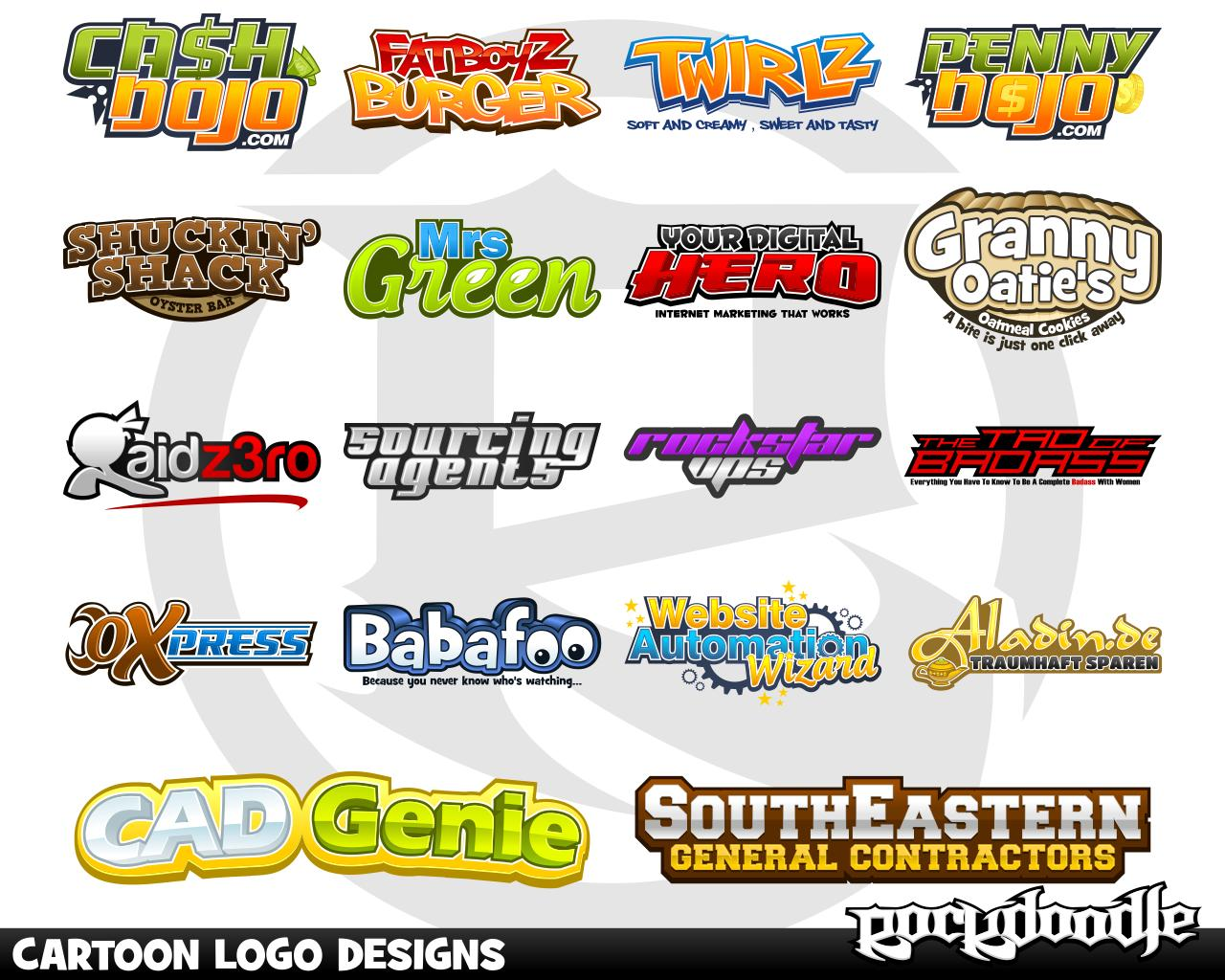 Custom Logo Design by LogoProDesign: Cartoon Logo Design