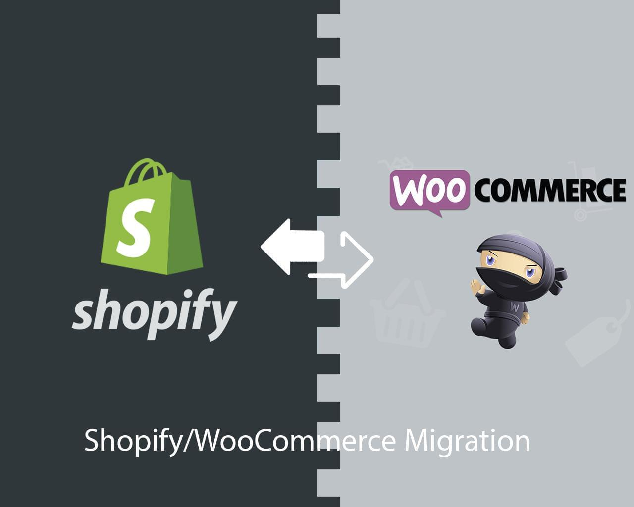 Shopify to WooCommerce / WooCommerce to Shopify Migration Service by ki-themes - 114293